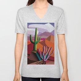 Black Canyon Desert Unisex V-Neck