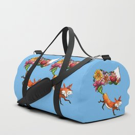 Hunt Flowers Not Foxes Duffle Bag