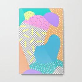 New Wave Series No. 2 Metal Print