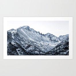 Rocky Mountains 6 Art Print