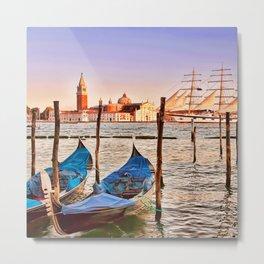 Capturing Venice Italy Metal Print