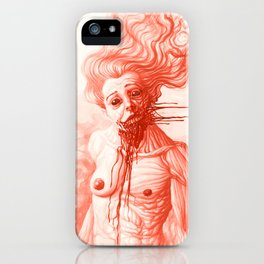 Desperation Smile iPhone Case