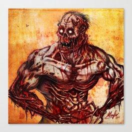 Just a Flesh Wound... Canvas Print