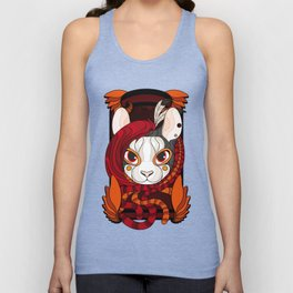 Karma Stained Glass Unisex Tank Top