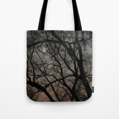ghost moon Tote Bag