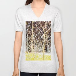 Nature finds the way inside... and outside... Everywhere! Unisex V-Neck