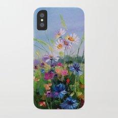 Blooming field iPhone X Slim Case