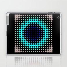 Breathing bullseye in Red Laptop & iPad Skin