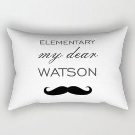 Elementary My Dear Watson Rectangular Pillow