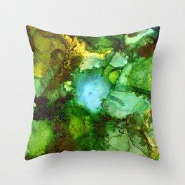Rainforest Sky II Throw Pillow