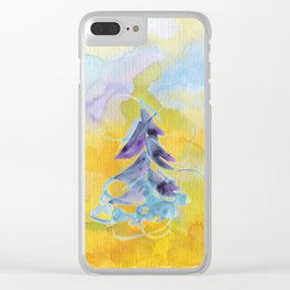 Joy Overflowing Clear iPhone Case