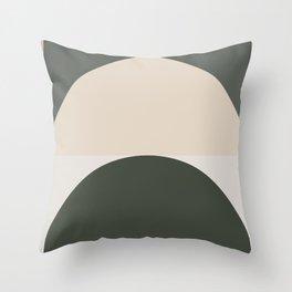 Contemporary Composition 14 Throw Pillow