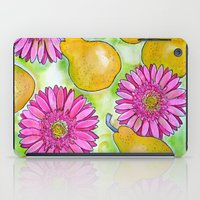 preppy iPad Cases featuring Preppy Pears & Daisies by Limezinnias Design