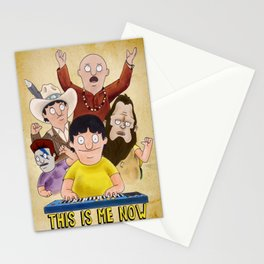 This is Me Now - Bob's Burgers - Gene Quote Stationery Cards