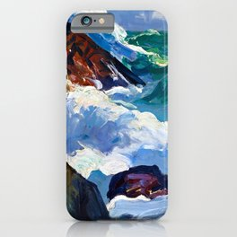 George Bellows Sunlit Surf iPhone Case