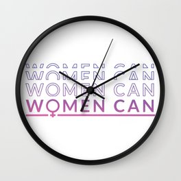 Women can rate Wall Clock