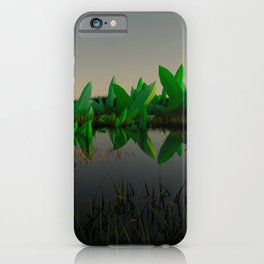 Crystal Fields iPhone Case