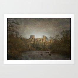 Barnard Castle Art Print