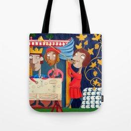 L'Epoca di Federico II - Il banchetto Tote Bag