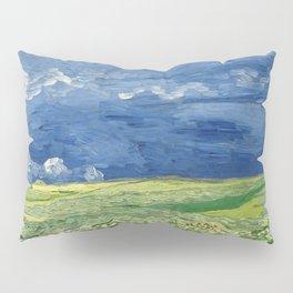 Vincent van Gogh - Wheatfield Under Thunderclouds Pillow Sham