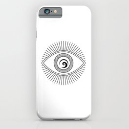 I'm watching you iPhone Case