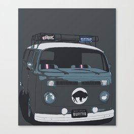 TAILGATE WAGON Canvas Print