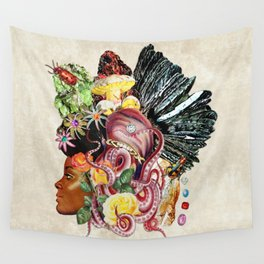 Black Beauty Wall Tapestry