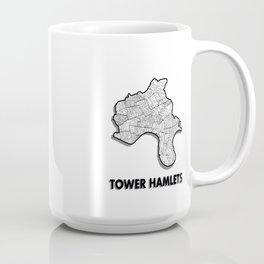 Tower Hamlets - London Borough - Simple Coffee Mug