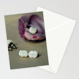 Molars and ear Stationery Cards