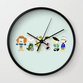 Mutant Superhero Friends Wall Clock