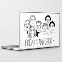 cactei Laptop & iPad Skins featuring Freaks and Geeks by ☿ cactei ☿