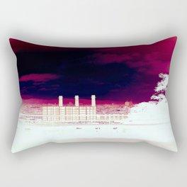 Transferred Rectangular Pillow