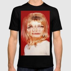 Another Portrait Disaster · S1 Mens Fitted Tee Black MEDIUM
