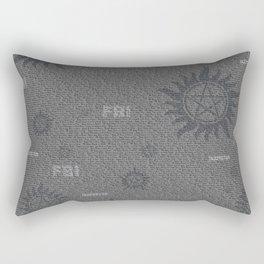 Dean and Sam Aliases Rectangular Pillow