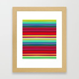 Rainbow Colors Framed Art Print