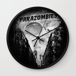Parazombies Wall Clock