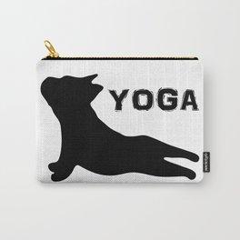 Cute French Bulldog. Yoga Puppy Carry-All Pouch