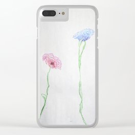 Ecstasy in Growth Clear iPhone Case