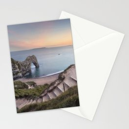 Winding Way to Durdle Door Stationery Cards