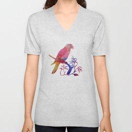 Parrot Unisex V-Neck