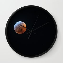 Super Blood Wolf Moon 1 Wall Clock