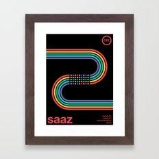 saaz noble hop Framed Art Print