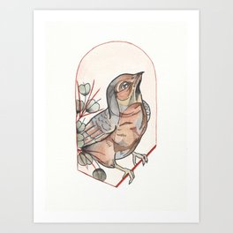 Pajarito Pintadito I Art Print