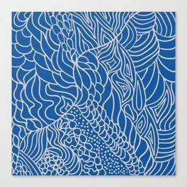 Tangles Canvas Print