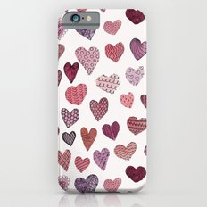 Artsy Hearts Slim Case iPhone 6s