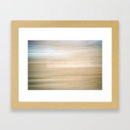 Sweeping Lines Framed Art Print
