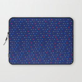 Buffalo Superfan Pattern - Dark Blue Laptop Sleeve