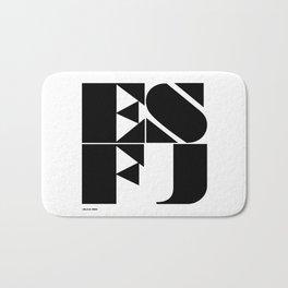Type Type for ESFJ Bath Mat