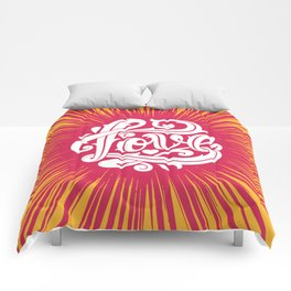 Love Thorns Comforters
