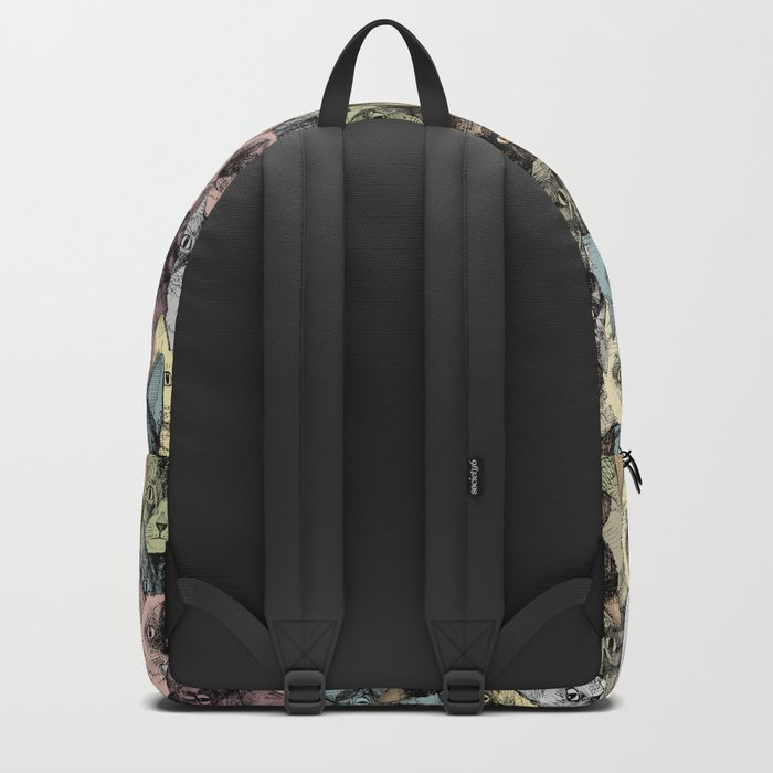 just cats retro Backpack